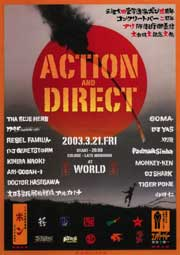 ACTION AND DIRECT -アリポンバイエ- at WORLD (Kyoto)